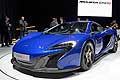 McLaren 650S Supercar at the Geneva Motor Show 2014