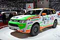 Mitsubishi Outlander PHEV Axcr Rally cars at the Geneva Motor Show 2014