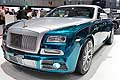 Rolls-Royce Wraith by Mansory bicolore al Ginevra Motor Show 2014