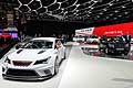 Seat Leon Cup Racer racing car al Salone Internazionale dell´Automobile di Ginevra 2014