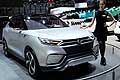 SsangYong XLV suv frontale al Motor Show di Ginevra 2014