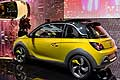 Vauxhall Adam Rocks yellow al Salone di Ginevra 2014