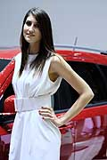 Hostess al Salone dell´auto di Ginevra 2014