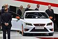 Seat press conference at the Geneva Motor Show 2014