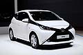 Toyota Aygo city car al Salone dell�Automobile di Ginevra 2014