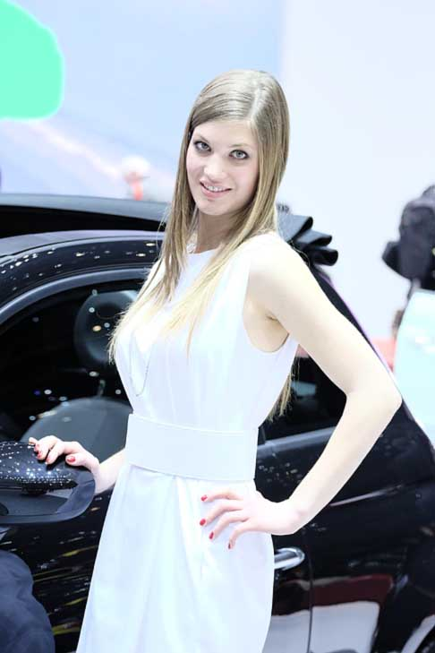 Ginevra-Motor-Show Hostess