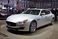 Maserati Quattroporte luxury cars at the Geneva Motor Show 2013
