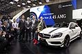 Mercedes press conference in Geneva Motor Show 2013