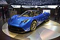 Pagani Huayra dubut at the Geneva Motor Show 2013
