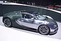 Supercar Bugatti at the Geneva Motor Show 2013