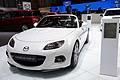 Mazda MX-5 roadster at the Geneva Motor Show 2013