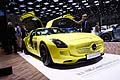 Mercedes-Benz SLS AMG Coup� Electric Drive al Ginevra Motor Show 2013