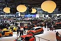 Panoramica stand con le vetture Renault al Ginevra Motor Show 2013