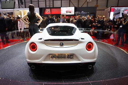 Alfa Romeo - Alfa Romeo 4C Coupé 'Launch Edition'