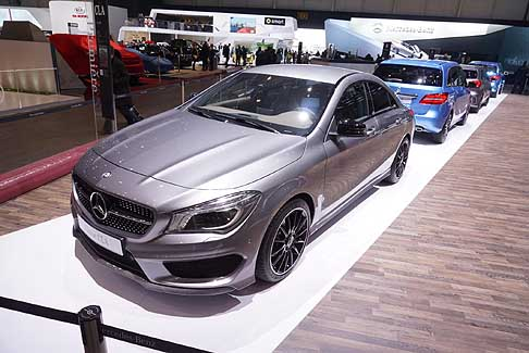 Mercedes - Mercedes-Benz CLA con un design sportivo e all´avanguardia