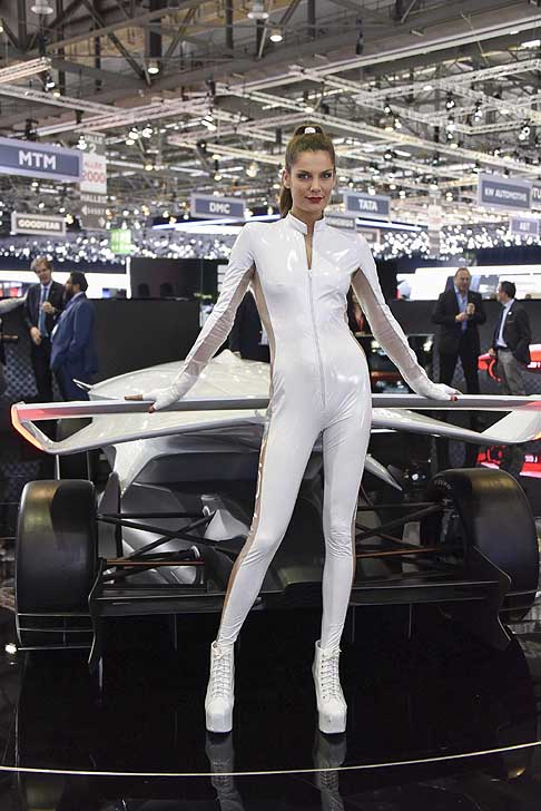Ginevra-Motorshow Hostess