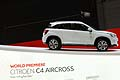 Citroen C4 Aircross world premiere al Salone dell´automobile di Ginevra 2012