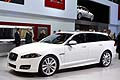 New Jaguar XF Sportbrake  world premiere at the Geneva Motor Show 2012