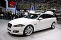 New Jaguar XF Sportbrake station wagon all´82^ edizione del Salone di Ginevra 2012