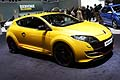 Renault Mègane RS fiancata laterale al Ginevra Motor Show 2012