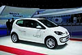 The new Volkswagen eco up! White at Geneva Motor Show 2012