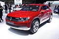 Vettura Volkswagen Cross-Coupè plug-in hybrid