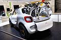 Smart concept cars pick-up and bike