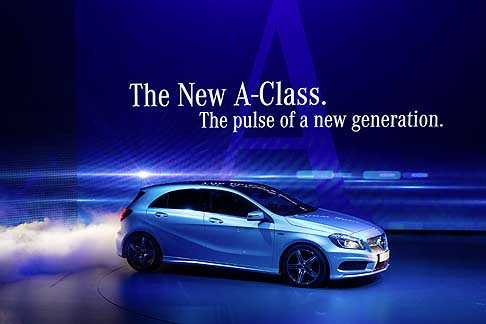 Mercedes-Benz - On the eve of the Geneva Motor Show Mercedes A Calss