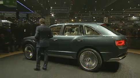 Bentley - Auto di Lusso Bentley EXP 9 Falcon Concept retro vettura Geneva 2012