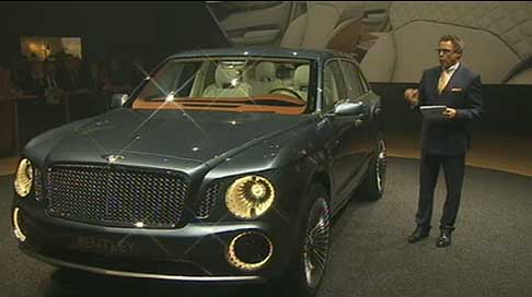 Bentley - bentley luxury performance suv concept EXP 9F ispirata al Falco