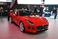 Jaguar F-Type Coupe anteriore vettura al Salone di Los Angeles 2013