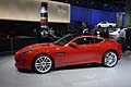 Jaguar F-Type Coupe fiancata laterale a Los Angeles Auto Show 2013
