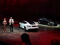 Jaguar F-Type Coup� press conference LA Auto Show 2013