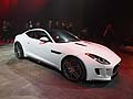 Jaguar F-Type Coupé world premiere at the Los Angeles Auto Show 2013