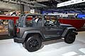 Jeep Wrangler Willys Wheeler fiancata laterale al Los Angeles Auto Show 2013