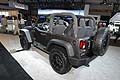 Jeep Wrangler Willys Wheeler posteriore al Los Angeles Auto Show 2013