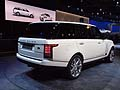 Land Rover Range Rover Long Wheelbase Autobiography Black retrotreno al LA Auto Show 2013