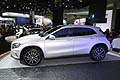Mercedes GLA 250 fiancata laterale al Salone di Los Angeles 2013