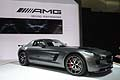 Mercedes-Benz SLS AMG GT Final Edition vista laterale al Salone di Los Angeles 2013