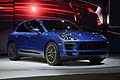 Porsche Macan world premiere at the LA Auto Show 2013