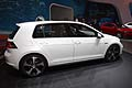 Volkswagen GTI vista laterale al Salone di Los Angeles 2013