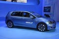 Volkswagen e-Golf full electric at the Los Angeles Auto Show 2013