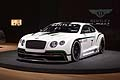 Bentley Continental GT3 concept world premiere at the LA Auto Show 2012