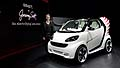 Fashion designer Jeremy Scott on the eve of the LA Auto Show at Jim Henson Studios in Los Angeles with the showcar Smart ForJerem world debuts