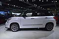 Vettura Fiat 500L fiancata laterale Los Angeles International Auto Show 2012