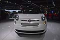 Fiat 500L frontele di LA International Auto Show 2012 di Los Angeles