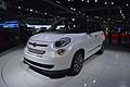 Auto Fiat 500L multispace di LA International Auto Show 2012 di Los Angeles