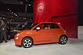 Fiat 500e city car eletrica zero emission al Salone di Los Angeles 2012