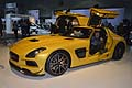 New Mercedesz-benz SLS AMG Coup� Black Series ali di gabbiano al Salone di Los Angeles International Auto Show 2012