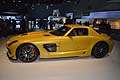 Mercedesz-Benz SLS AMG Coup� Black Series sport cars al Los Angeles International LA Auto Show 2012